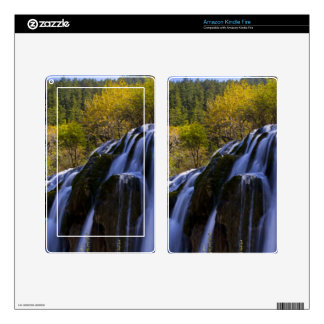 Gigantic Waterfall in a China Jiuzhaigou Skins For Kindle Fire
