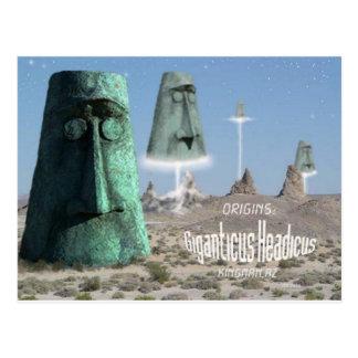 Giganticus headicus origins postcards