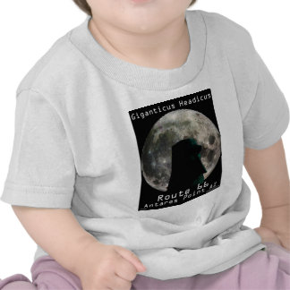 Giganticus Headicus with Full Moon Route 66 Shirt