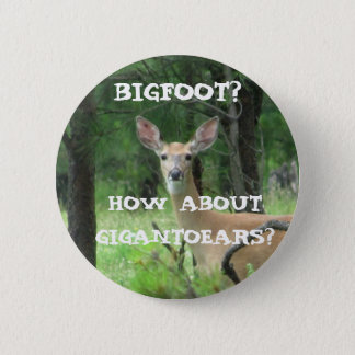 Gigantoears The Big Ear Deer Pinback Button