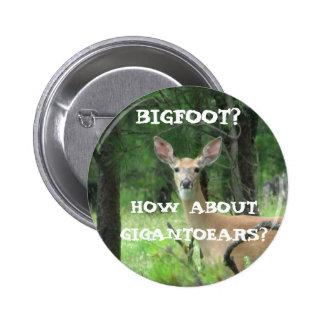 Gigantoears The Big Ear Deer Pinback Button
