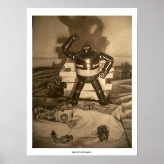 Gigantor y los robots caidos póster
