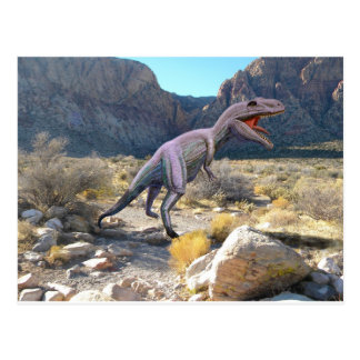 Gigantosaurus Dinosaur Postcard