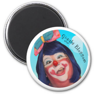 Giggle Blossom the Clown Magnet