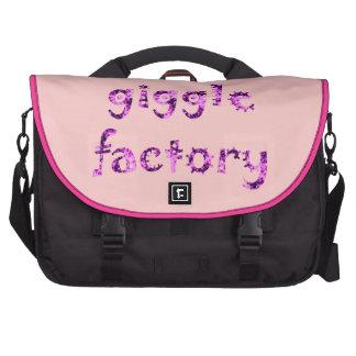 giggle factory notebook tasche