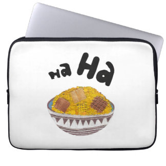 Giggle Flakes 13 Inch Laptop Sleeve