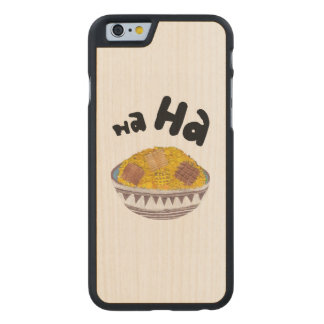 Giggle Flakes I-Phone 5/5S Wooden Case
