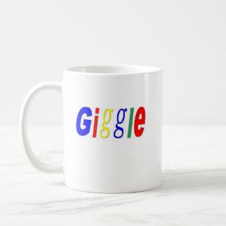 giggle, giggle coffee mug