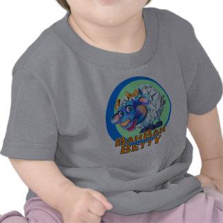 GiggleBellies Bah Bah Betty las ovejas Camiseta