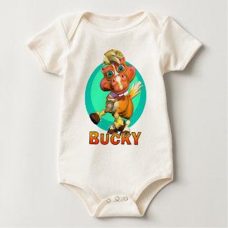 GiggleBellies Bucky el caballo Body De Bebé