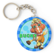 """GiggleBellies"" Bucky the Horse Keychain"