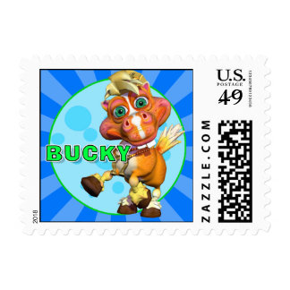 """GiggleBellies"" Bucky the Horse Stamp"