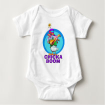 GiggleBellies Chickaboom the Chicken Baby Bodysuit