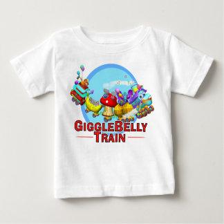 GiggleBellies el tren de GiggleBellie Playera De Bebé