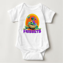 GiggleBellies Fribbets the Frog Baby Bodysuit