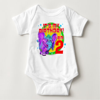"""GiggleBellies""  It's My Birthday! Baby Bodysuit"