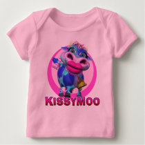 GiggleBellies Kissy Moo the Cow Baby T-Shirt