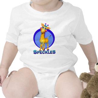 GiggleBellies motea la jirafa Trajes De Bebé