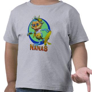 GiggleBellies Nanas el mono Camiseta
