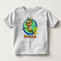 GiggleBellies Nanas the Monkey Toddler T-shirt