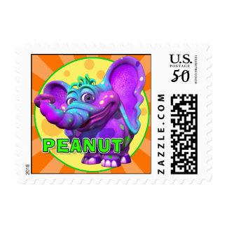 """GiggleBellies"" Peanut the Elephant Stamp"