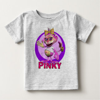GiggleBellies Pinky the Monkey Baby T-Shirt