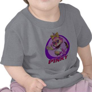 GiggleBellies rosado el mono Camiseta