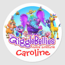 GiggleBellies   Your Child's Name Sticker