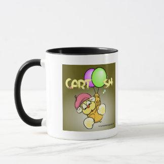 giggleCubby flys off (greenish brown) Mug