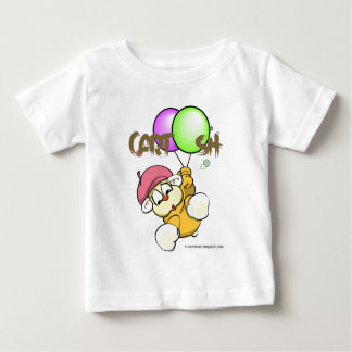 giggleCubby flys off (white) Baby T-Shirt