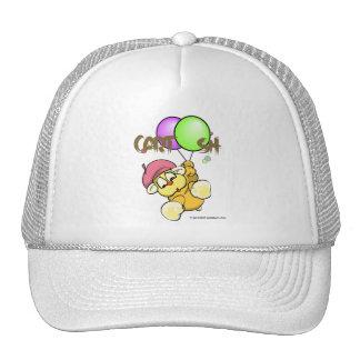 giggleCubby flys off (white) Trucker Hat