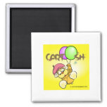 giggleCubby flys off (yellow) Magnet