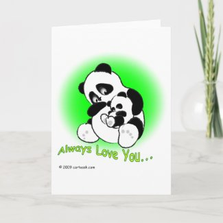 gigglePanda for Mother's Day card
