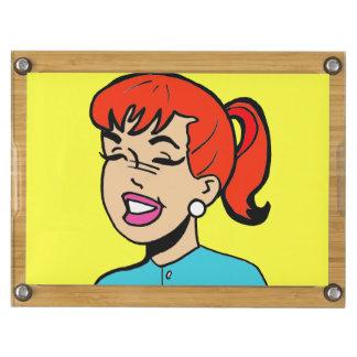Giggles Comic Strip Cheese Board Rectangular Cheese Board