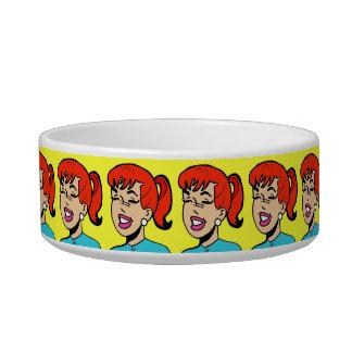 Giggles Comic Strip Dog Bowl