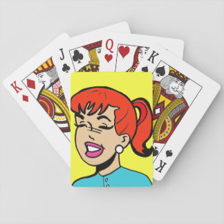 Giggles Comic Strip Playing Cards