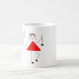 """giggles in red"" mug"