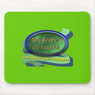 Gigglestown creations green mousepad