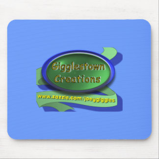 Gigglestown Creations Light Blue Mousepad