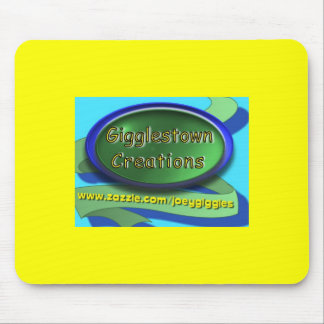 Gigglestown Creations Yellow/Blue Mousepad