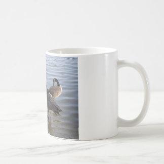 Giggling gaggle of geese coffee mug