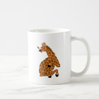 Giggling Giraffe Coffee Mug