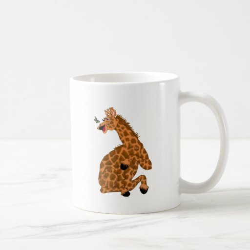Giggling Giraffe Coffee Mugs