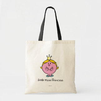 Giggling Little Miss Princess Tote Bag