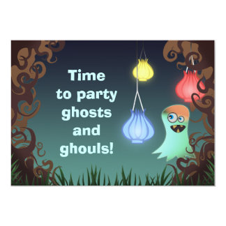 Giggly Ghost, invitation
