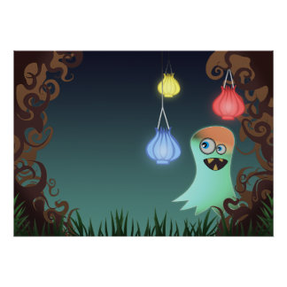 Giggly Ghost, print