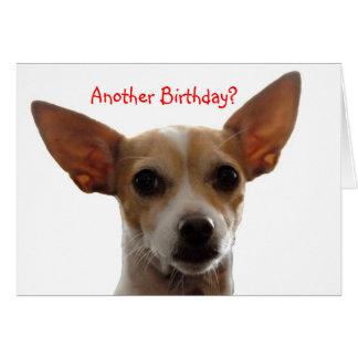 GiGi, Another Birthday? Card