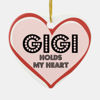 Gigi Baby Clothes and Gifts Ceramic Ornament