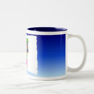 Gigi Cooking Blue Two-Tone Coffee Mug
