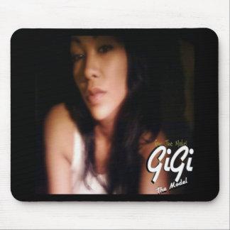 Gigi el cojín de ratón modelo (versión 1) tapete de ratón